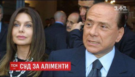 Экс-премьер Италии выиграл дело в отношении алиментов