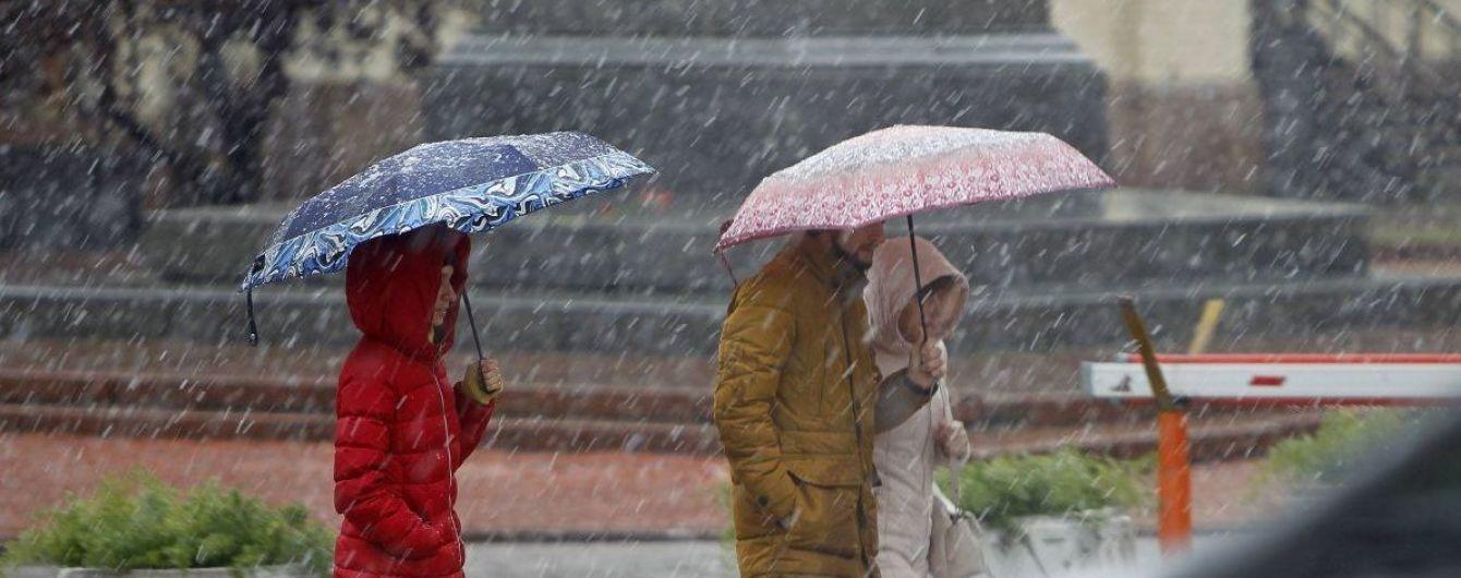 Синоптики обещают мокрый снег с дождем отдельным регионам. Прогноз погоды на 11 января