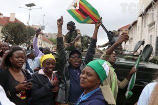 Мнангагва повернувся до Зімбабве і вже публічно виступив перед народом