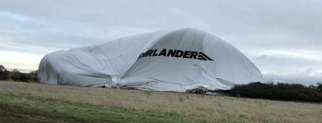 В Англії розбилося найбільше повітряне судно світу