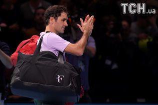 Неймовірний Федерер покинув Підсумковий турнір у Лондоні