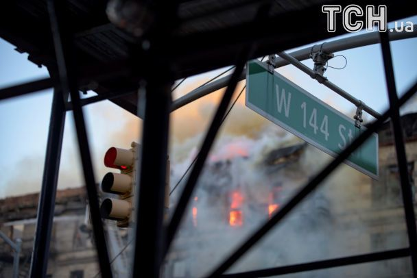 У нью-йоркському Гарлемі сталася велика пожежа