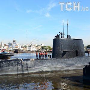 С пропавшей аргентинской субмарины Сан-Хуан пытались позвонить