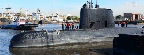 Зі зниклої аргентинської субмарини Сан-Хуан намагалися зателефонувати