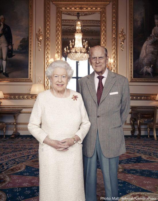 Разом 70 років. З'явилося святкове фото королеви Єлизавети ІІ та принца Філіпа