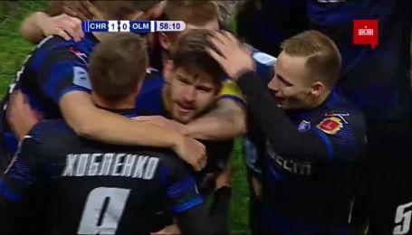 Черноморец - Олимпик - 1:0. Видео гола Ковальца