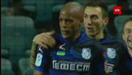 Черноморец - Олимпик - 2:0. Видео гола Вага