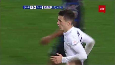 Чорноморець - Олімпік - 2:1. Відео голу Очігави
