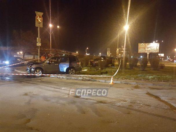 У Києві унаслідок ДТП постраждала дитина