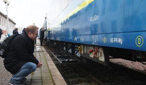 """Український виробник влаштував """"оглядини"""" вагона, який можуть закупити для маршруту """"Київ-Відень"""""""
