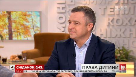 День ребенка: Николай Кулеба.прокомментировал наиболее вопиющие ситуации