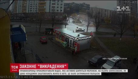 Поліція прокоментувала викрадення жінки в Києві
