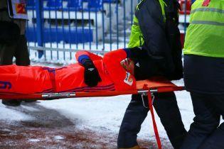 Двое футболистов ЦСКА сломали ноги в официальном матче при 17-градусном морозе
