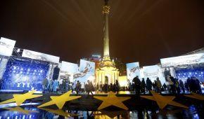 Украина отмечает День достоинства и свободы: в центре Киева ограничили движение транспорта