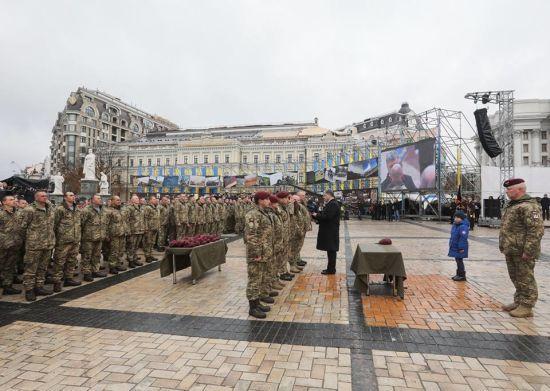 Прапор, форма, девіз, назва: український десант став помітно інакшим після 21 листопада