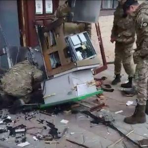 Под Харьковом неизвестные напали на охранницу дома культуры и взорвали банкомат