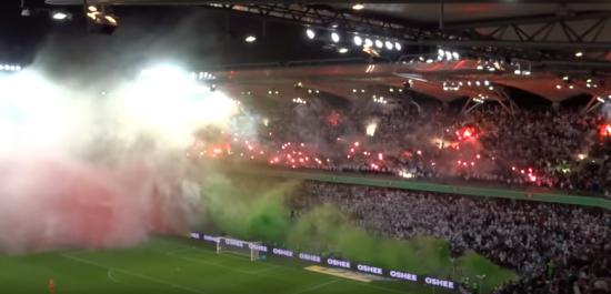 Вболівальники польського клубу влаштували неймовірний перфоманс на грі чемпіонату