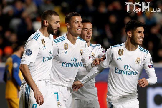 """""""Реал"""" вийшов до наступного етапу Ліги чемпіонів, """"Боруссія"""" з Ярмоленком вилетіла з турніру"""