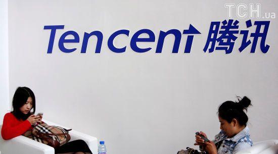 Китайська соціальна мережа Tencent обійшла за вартістю Facebook