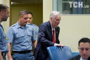 Колишнього командувача армією боснійських сербів Ратко Младича засудили до довічного ув'язнення