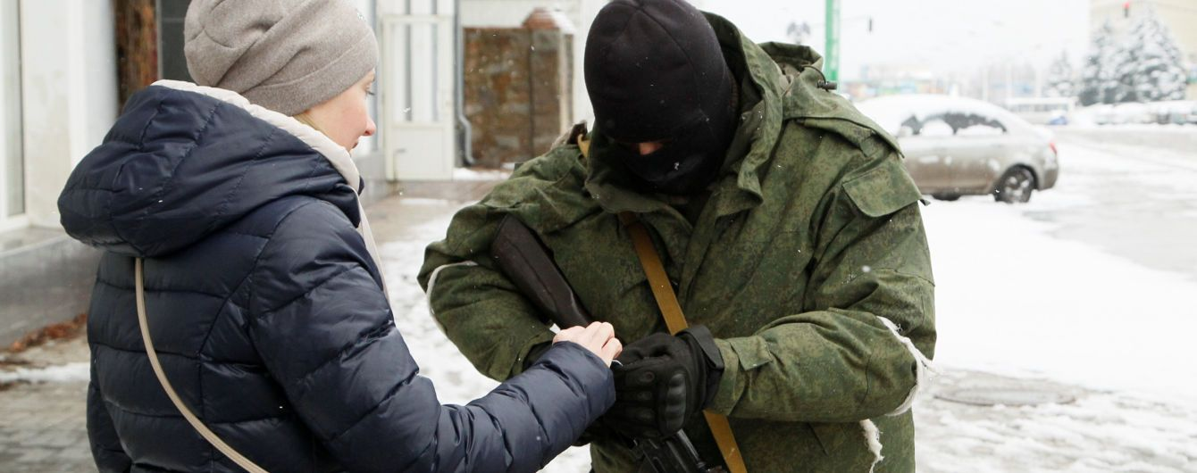 Оккупанты на Донбассе создают спецотряды для подавления акций гражданского неповиновения – разведка
