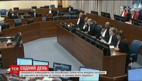 Суд ООН в Гааге вынес приговор бывшему командующему силами боснийских сербов