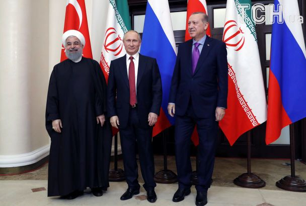 Путін у Сочі домовився з Ердоганом і Роухані про майбутнє Сирії
