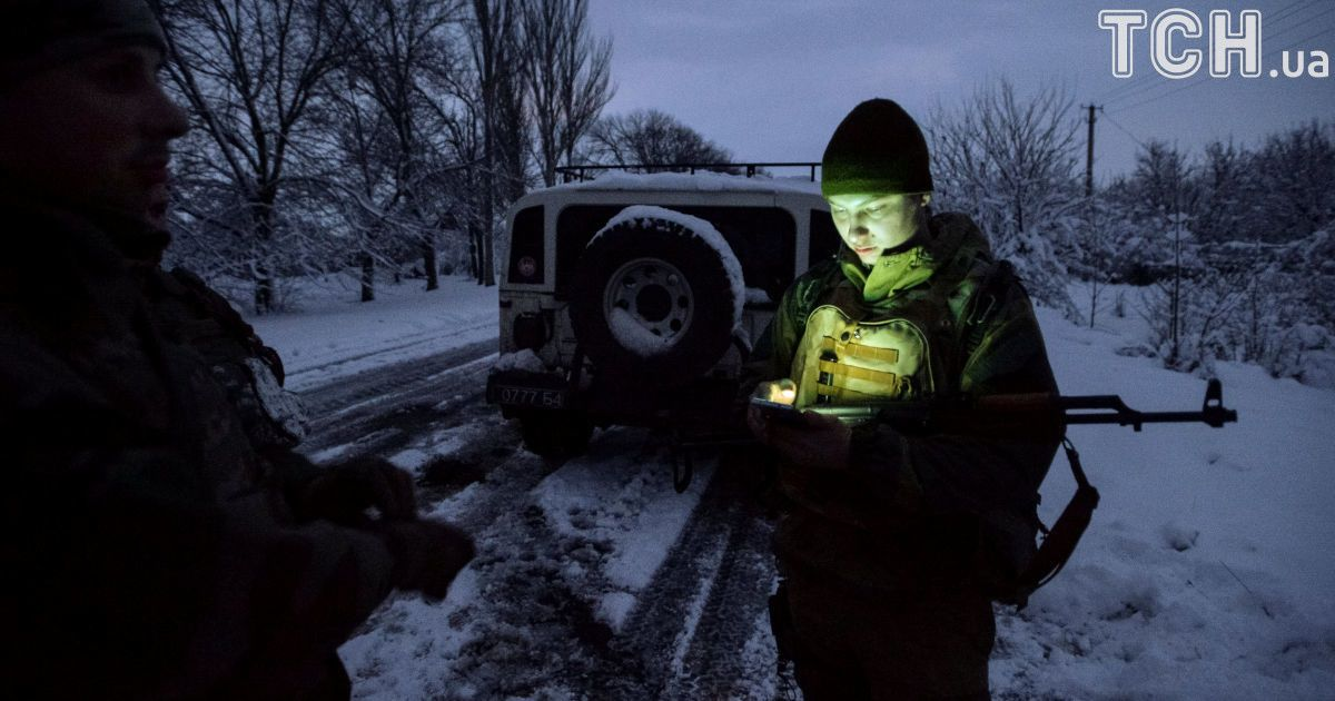 Українські військові у Травневому