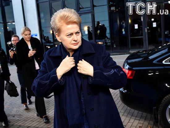 """""""На території Білорусі господарює Москва"""".  Грибаускайте припустила, чому Лукашенко не приїхав до Брюсселя"""