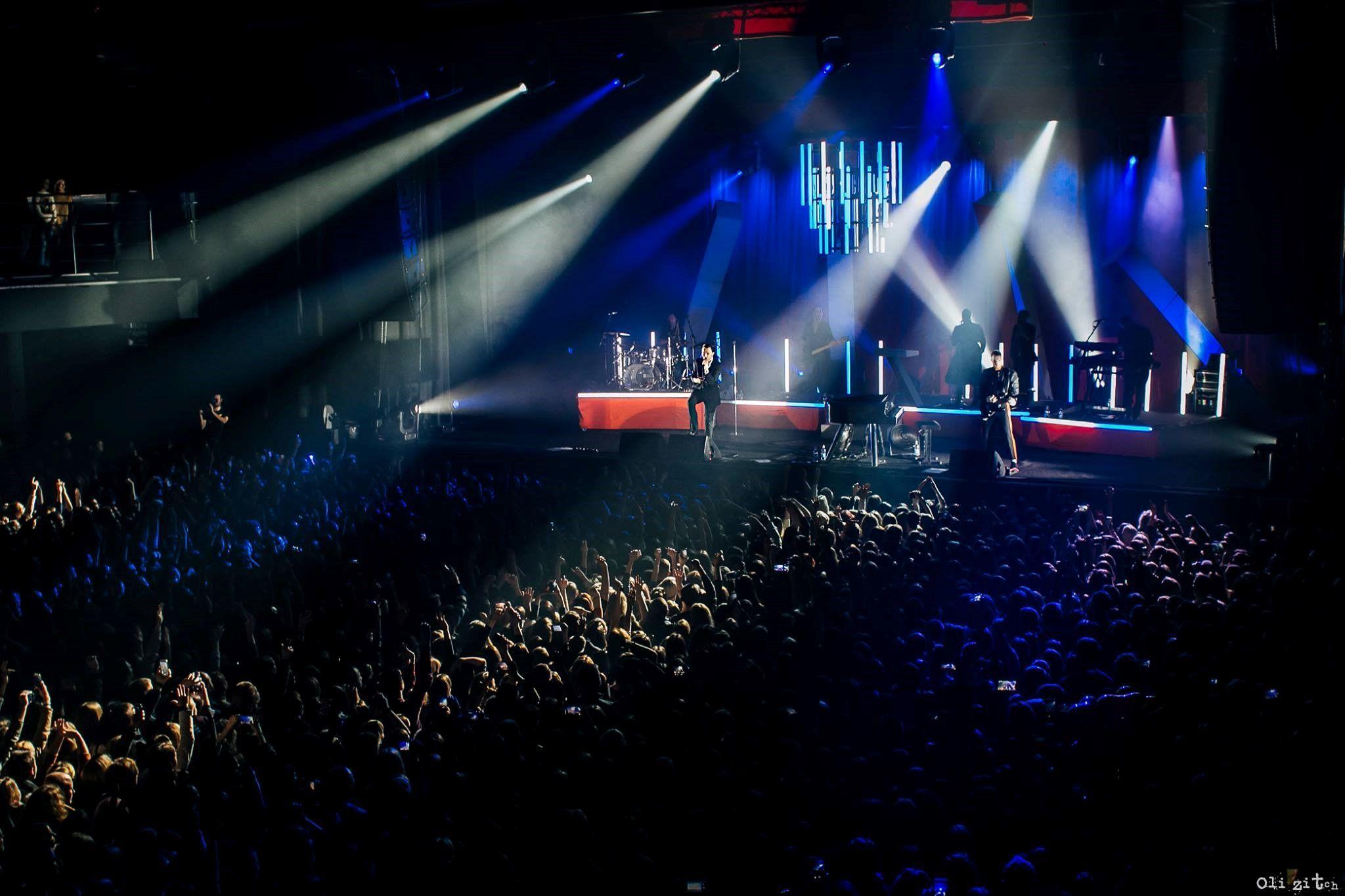 Концерт группы Hurts в Киеве