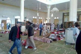 Унаслідок теракту в мечеті в Єгипті загинули 184 особи
