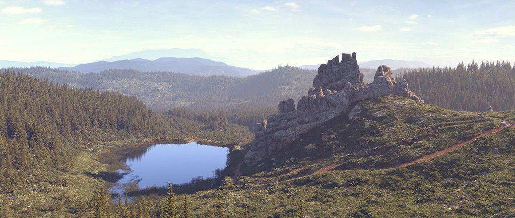 Тустанська фортеця, Урич