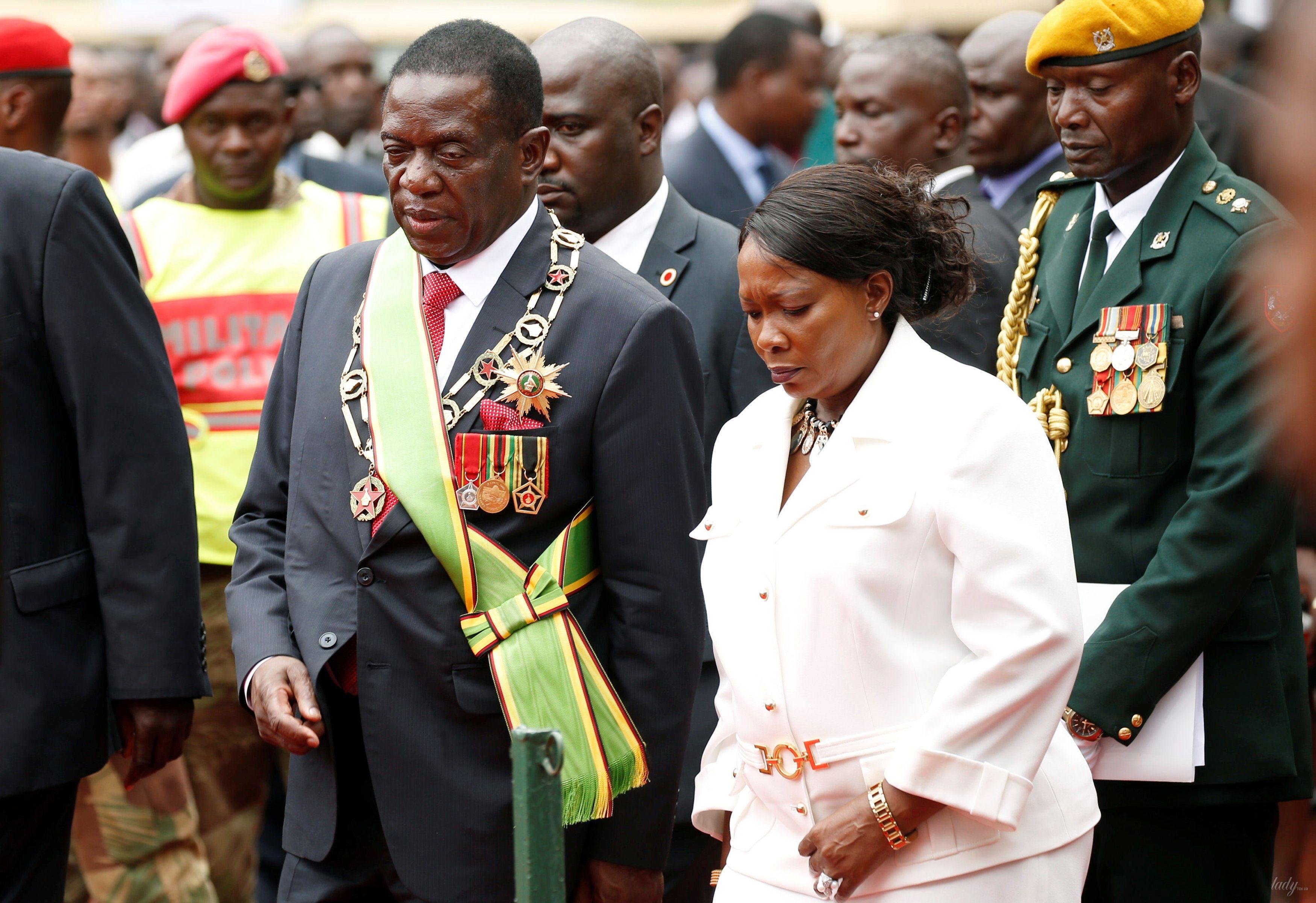 Первая леди Зимбабве Оксилия Мнангагва _3