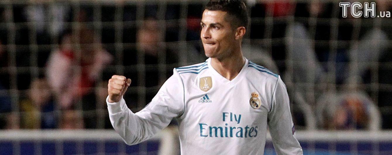 Роналду признан лучшим игроком недели Лиги чемпионов