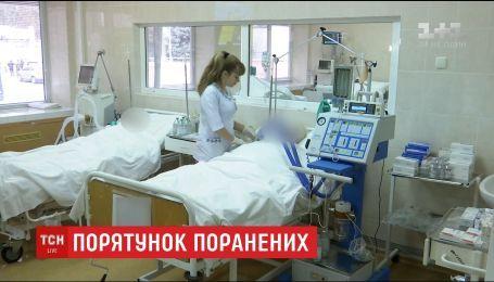 В Днепре медики борются за жизнь двух военных, которые получили ранения на Луганщине