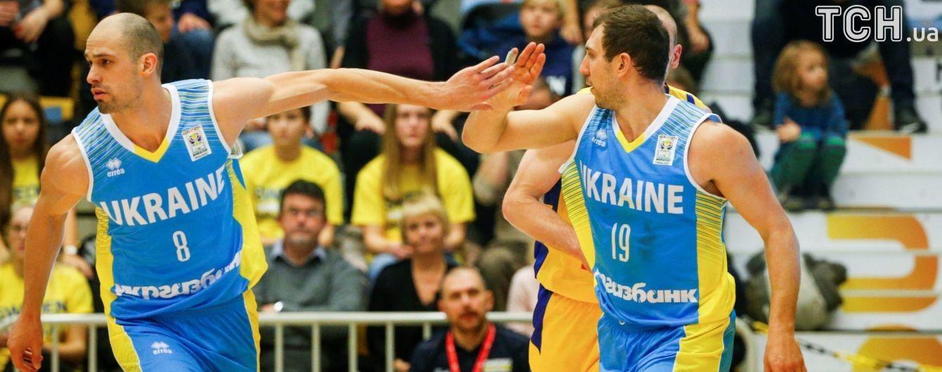 Збірна України з баскетболу з перемоги стартувала у відбірковому етапі ЧС-2019