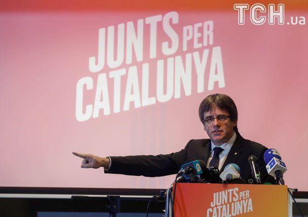 Пучдемон розпочав кампанію на виборах у Каталонії з бельгійського готелю