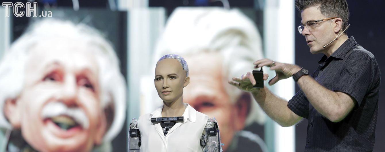 Робот Софія, яка пообіцяла знищити людство, отримала можливість ходити і танцювати