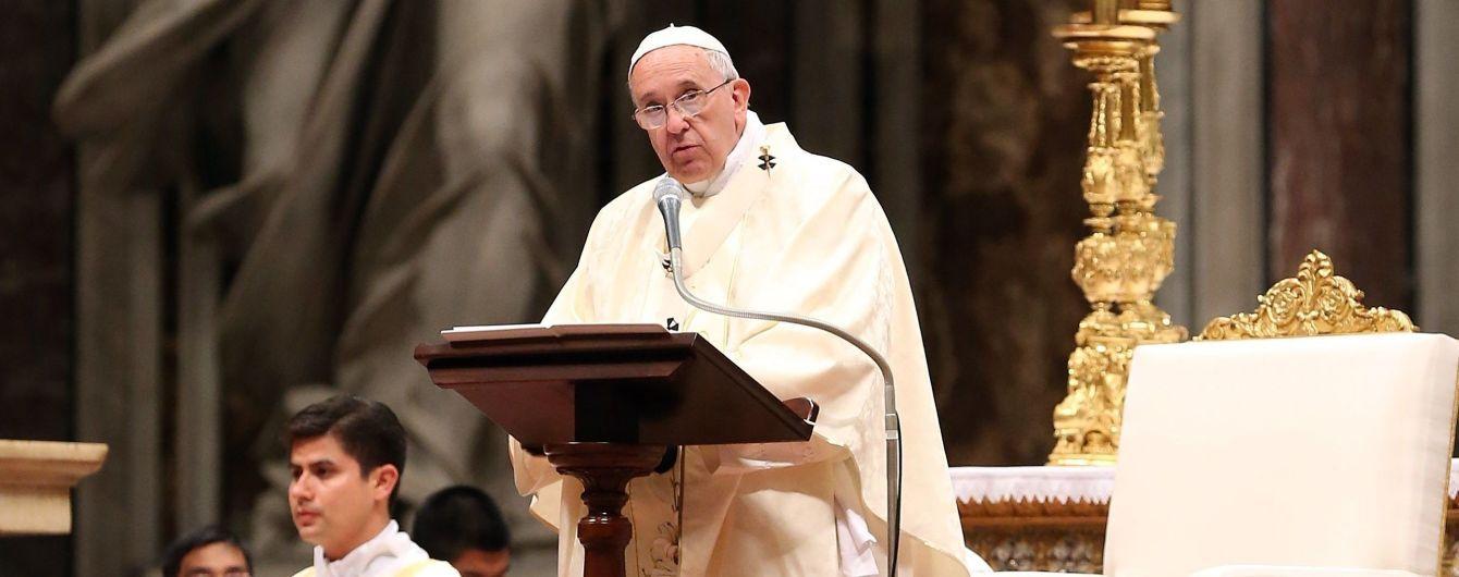 Папа Римский упомянул в проповеди Голодомор, и сказал, что молится за Украину