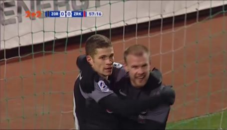 Заря - Звезда - 1:0. Видео гола Громова
