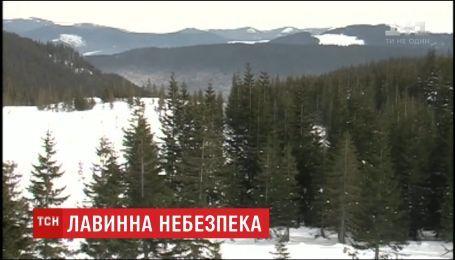 Спасатели предупреждают об угрозе схождения лавин в Карпатах