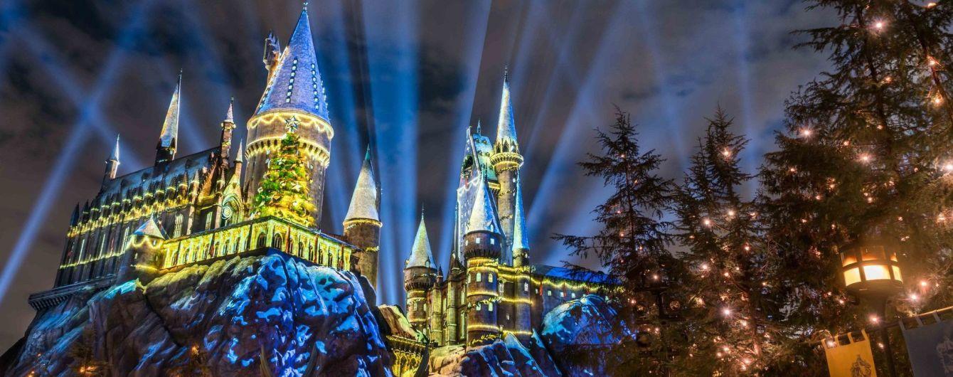 """В США открылся """"Волшебный парк Гарри Потера"""" с школой магии Хогвартс"""