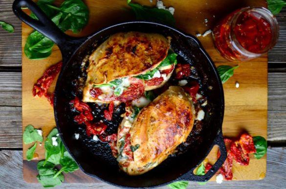 Курка з в'яленими помідорами
