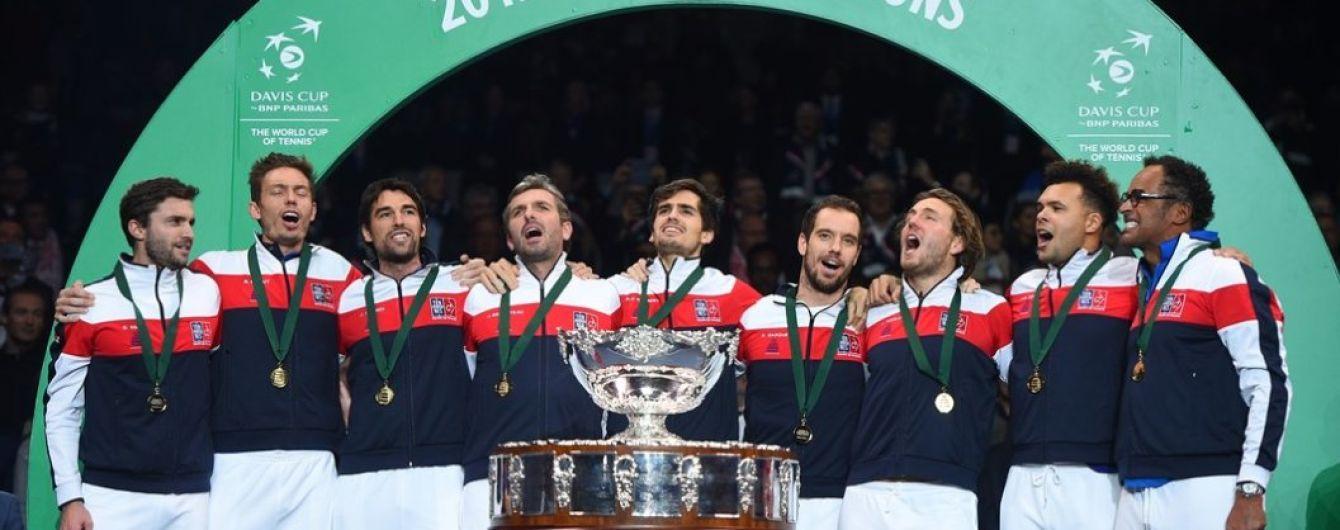 Франція вдесяте стала переможцем Кубка Девіса