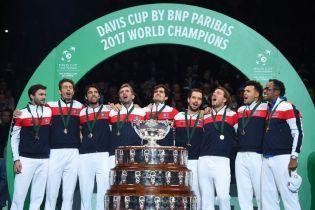 Франция в десятый раз стала победителем Кубка Дэвиса