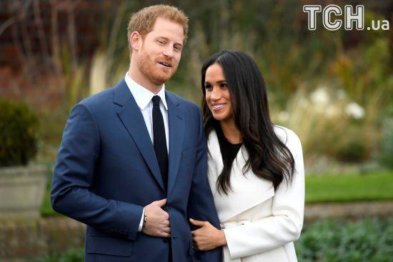 Королівське весілля: стало відомо, чим Меган Маркл та принц Гаррі пригощатимуть гостей