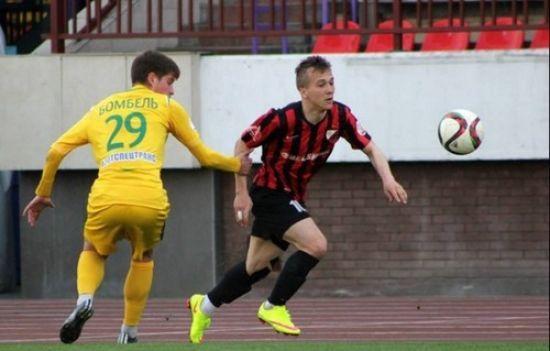 Український футболіст забив красивий м'яч через себе в чемпіонаті Білорусі