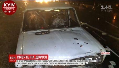 В Вышгородском районе внедорожник сбил трех женщин, есть погибшие