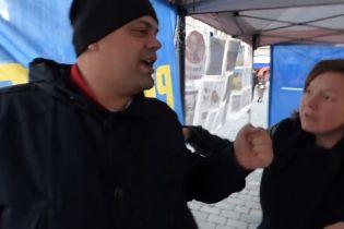 """""""Если надо – и здесь наведем порядок"""": в Праге агрессивные россияне набросились на проукраинских активистов"""