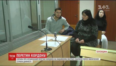 Суд вирішив долю юнака, який на матраці із Херсонщини по морю потрапив до Криму